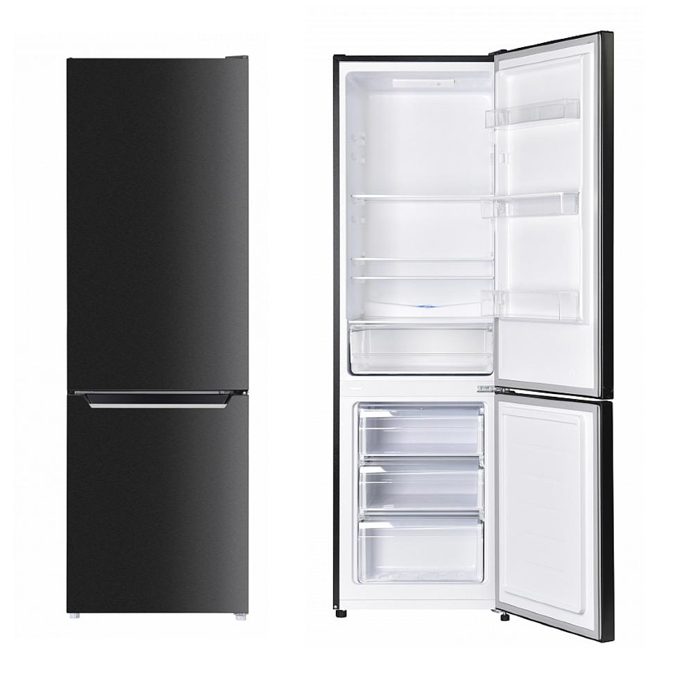 Maunfeld MFF176SFSB отдельностоящий холодильник с морозильником