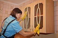 меньше уборки на кухни с вытяжкой