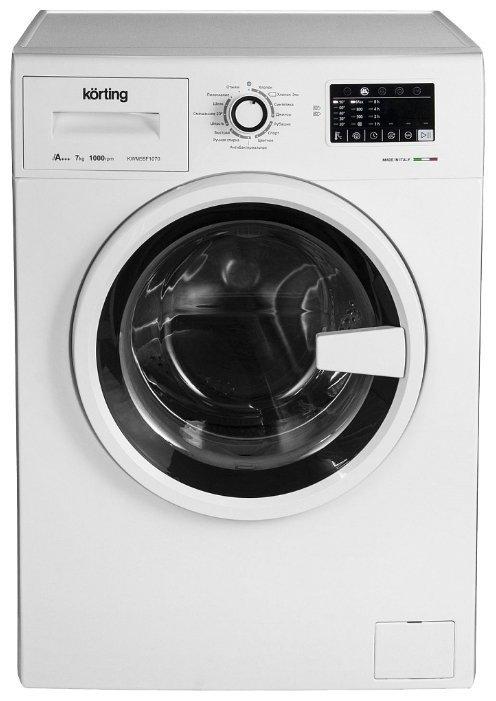 Korting KWM 39F1060 стиральная машина отдельностоящая