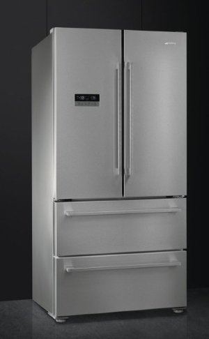 Smeg FQ55FXE1 холодильник French Door